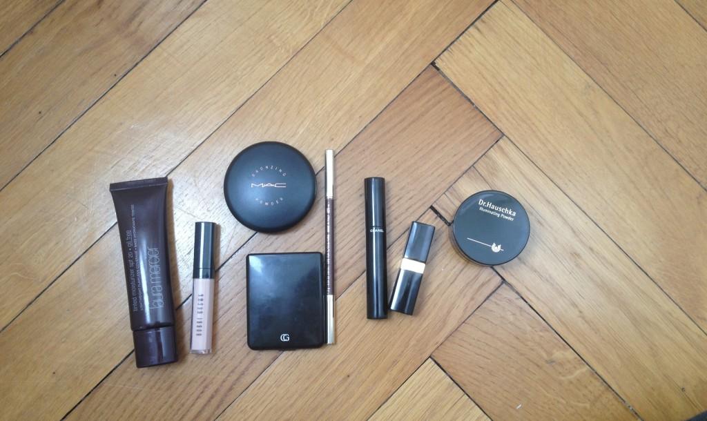 Un makeup minimaliste