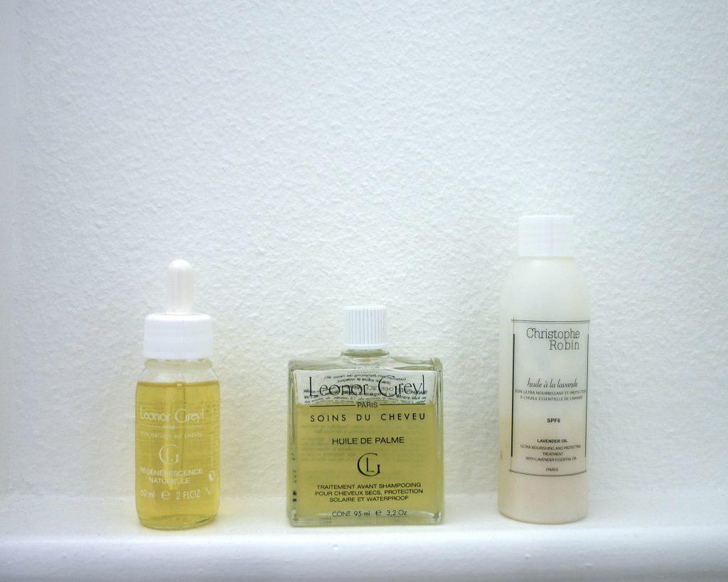 Les soins avant shampoing