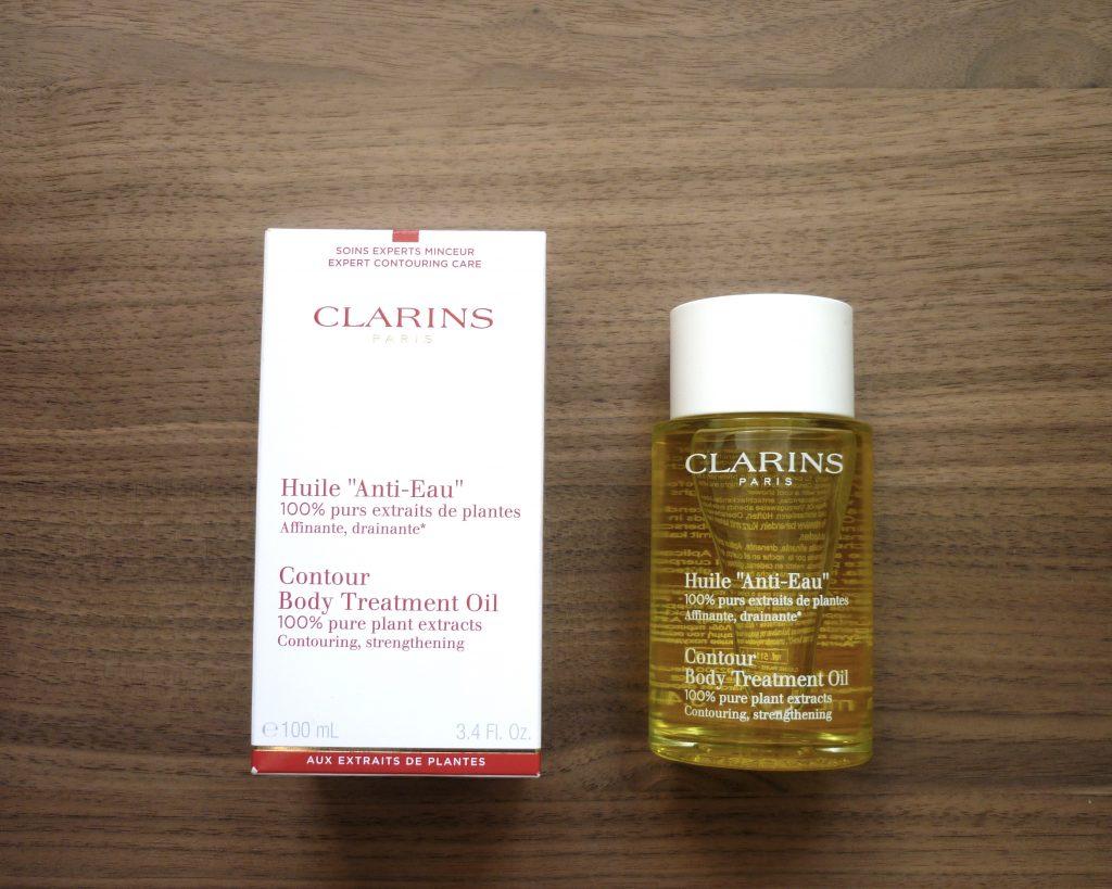 huile anti-eau clarins 4