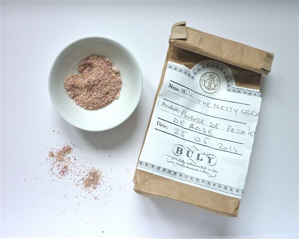 poudre de pétales de rose buly 1803