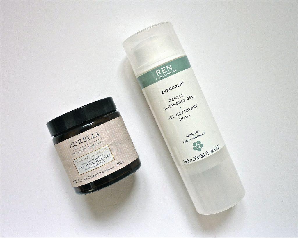 miracle cleanser aurelia probiotic skincare evercalm ren skincare