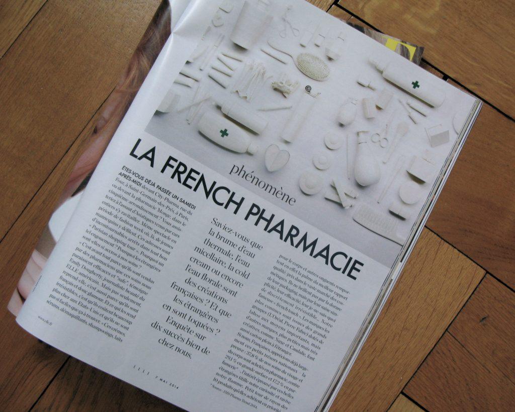 french pharmacie elle magazine 2